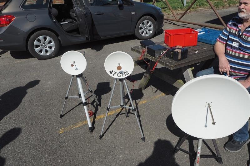 24 47 76 GHz setup
