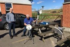 Testing 47 76 GHz (foto OZ0HF)