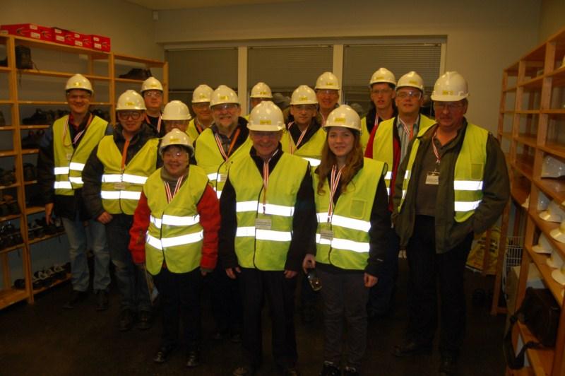 OZ6HR, besøg på Siemens 24.3.2011